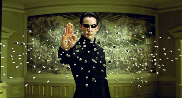 bullettime effects -Matrix